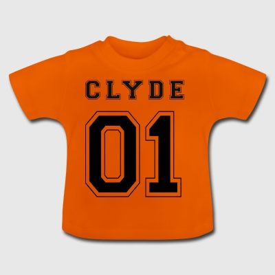 CLYDE 01 - Black Edition - Baby-T-skjorte