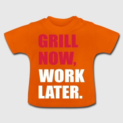 grilling - Baby T-Shirt