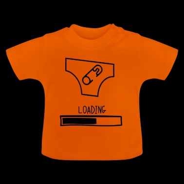 luier loading - Baby T-shirt