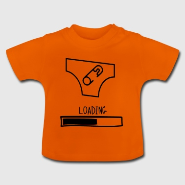 diaper loading - Baby T-Shirt