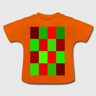 rectangles - T-shirt Bébé