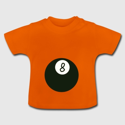 Billiard ball 8 - Baby T-Shirt