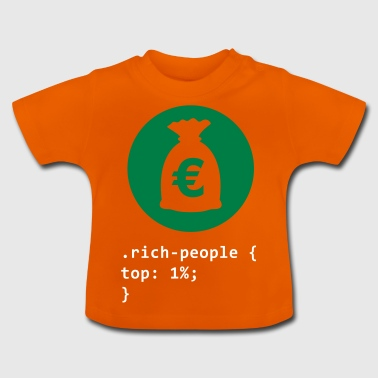 Rich People - Baby T-Shirt