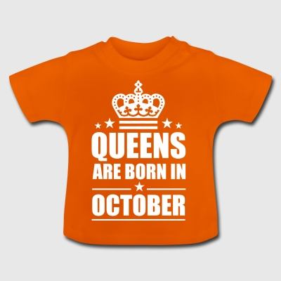 October Queen - Baby T-Shirt