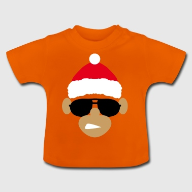 MONKEY CHRISTMAS COOL - Baby-T-skjorte