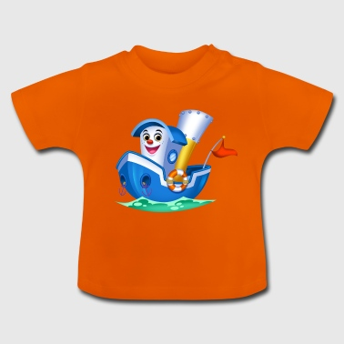 Little Arthur Collection Boat - Baby T-shirt