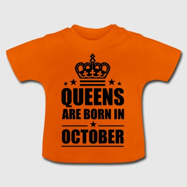 October - Baby T-Shirt