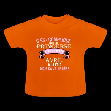 Avril - T-shirt Bébé