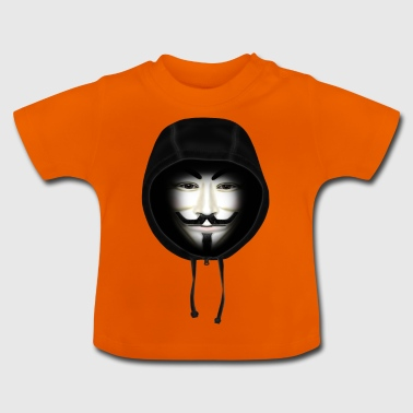 Hoodie Guy Fawkes - Baby T-Shirt