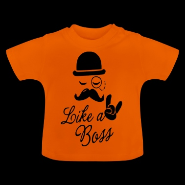 like a boss - Baby-T-shirt