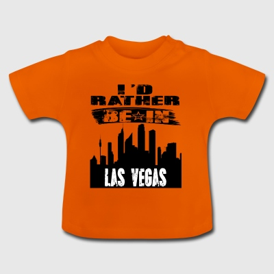 Gave Id snarere være i Las Vegas - Baby T-shirt