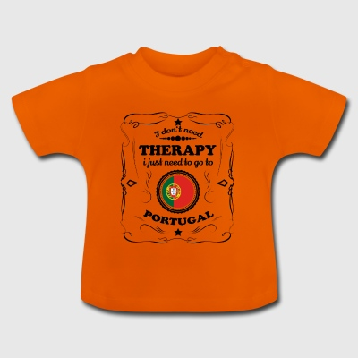 DON T BRUG FOR TERAPI GO PORTUGAL - Baby T-shirt