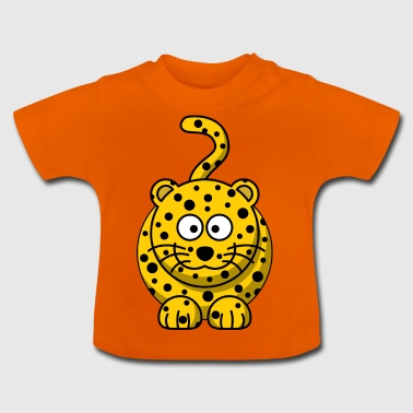 Leopard Cartoon - Baby T-Shirt