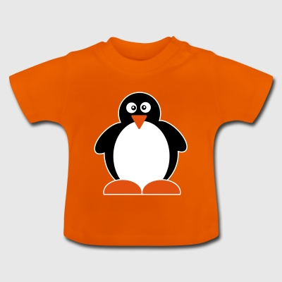 Penguin | Pingu Bird | North Pole | Winter | tails - Baby T-Shirt