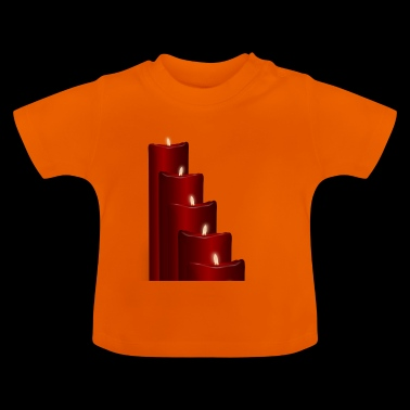 Advent kaarsen - Baby T-shirt