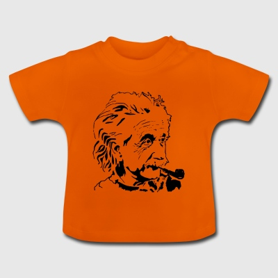 Albert Einstein - Baby-T-shirt