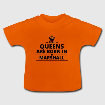 gift love queens are born MARSHALL ISLANDS - Baby T-Shirt