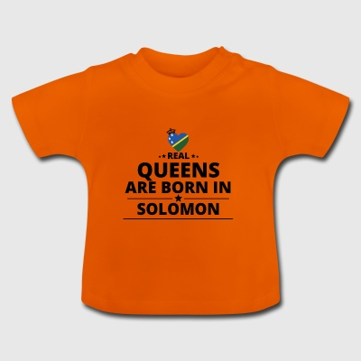 GIFT QUEENS LOVE FROM SOLOMON ISLANDS - Baby T-Shirt