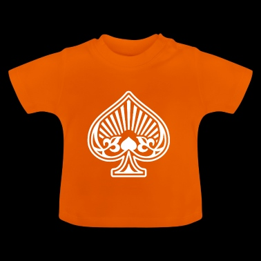 Aces Spades Poker Card - Baby T-shirt