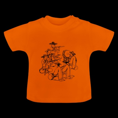asiatisk band - Baby-T-shirt