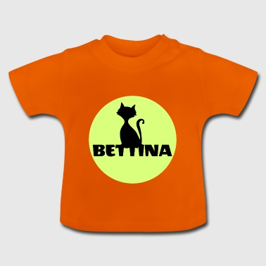 Bettina mit navn, personlig gave - Baby T-shirt