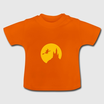 Witch moon - Halloween - Baby T-Shirt