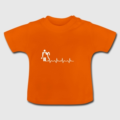 Butcher heartbeat butcher gift job job - Baby T-Shirt