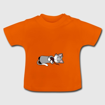 Sleepy Cat - Baby T-shirt