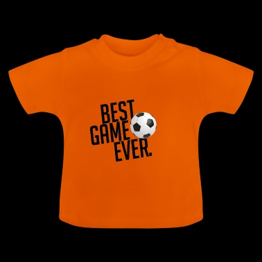 Best game ever Voetbal Gift Kicker - Baby T-shirt