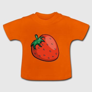 Strawberry strawberry tasty fruit fresh gift - Baby T-Shirt