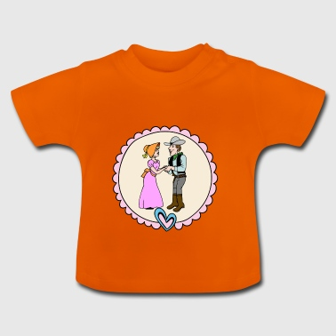 WESTERN COUPLE - Baby T-Shirt
