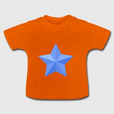 Blue Star Blue Star jul våbenskjold flag - Baby T-shirt