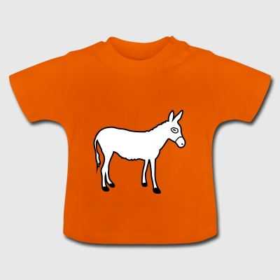 Donkey | Horse riding Bauernhof Muli Horseback riding stable - Baby T-Shirt