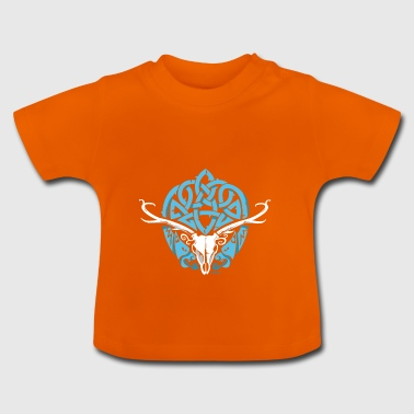 Celtic Stag - Baby T-Shirt
