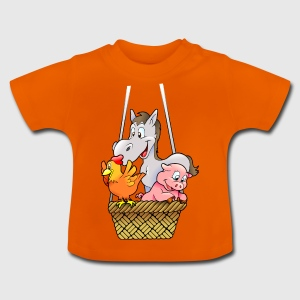 chicken120 - Baby T-shirt