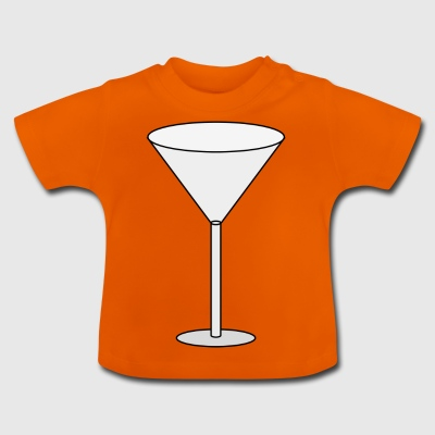 Cocktail glass - Baby T-Shirt