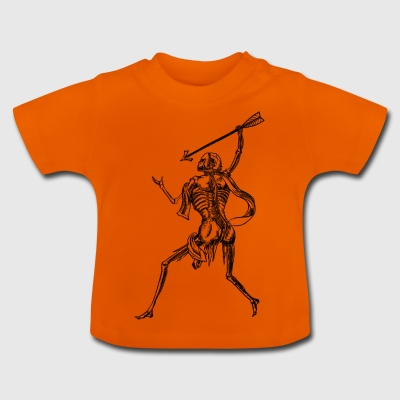 Skelett Kämpfer - Baby T-Shirt