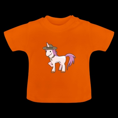 Scout Unicorn Scout - Baby T-shirt