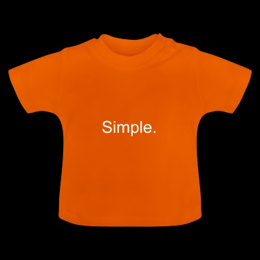 simple - T-shirt Bébé