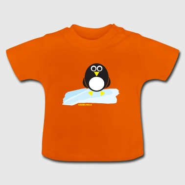Penguin on ice floe - Baby T-Shirt