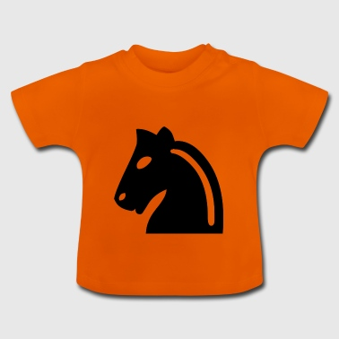 Chess horse - Baby T-Shirt