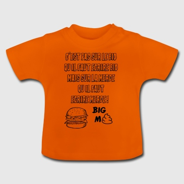 BIG MERDE - T-shirt Bébé