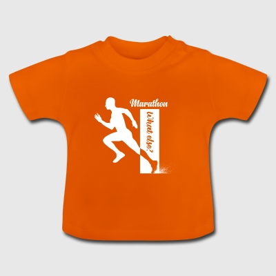 marathon whatelse - Baby T-shirt
