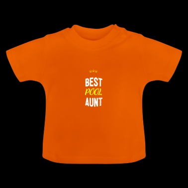 Distressed - BEST TANTE POOL - T-shirt Bébé