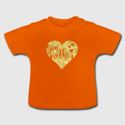 Patin Goldenes Herz - Baby T-Shirt