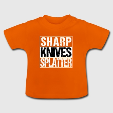 Skarpe Knive splatter gyser bmovie Hunter Koch - Baby T-shirt