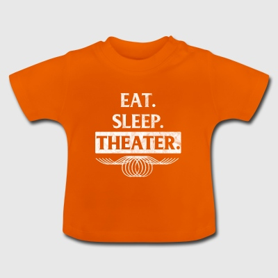 Gift for actor - food, sleep - Baby T-Shirt
