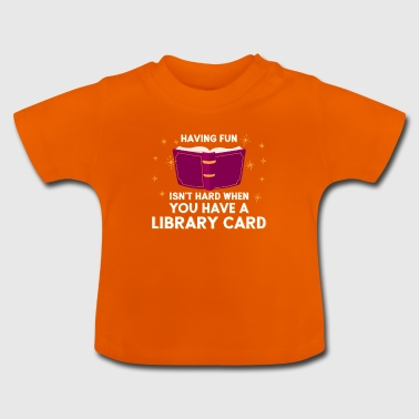 Library Card - Baby T-Shirt