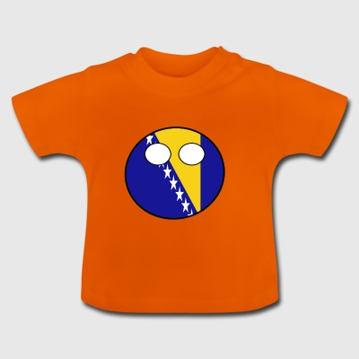 Countryball Land Heimat Bosnien Herzegowina - Baby T-Shirt