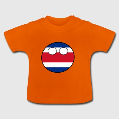 Countryball Country Home Costa Rica - Baby T-Shirt